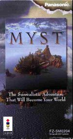 Myst 3DO cover