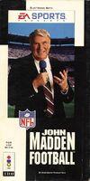 John Madden Football 3DO cover
