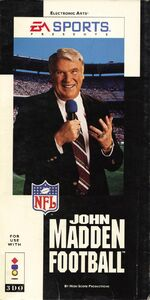 John Madden Football 3DO cover