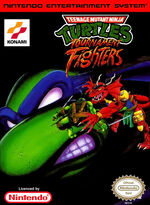 Teenage Mutant Ninja Turtles Tournament Fighters NES cover