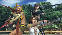 Final Fantasy X-2 HD PSVita screenshot