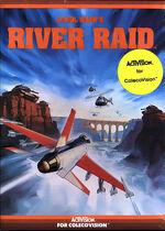 River Raid Colecovision cover