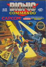 Bionic Commando NES cover