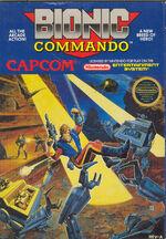 Bionic Commando NES cover