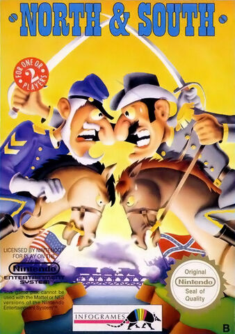 File:North and South NES cover.jpg