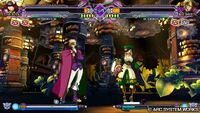 Blazblue Continuum Shift Extend PSVita screenshot