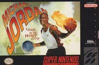 Michael Jordan Chaos In The Windy City SNES cover