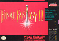 Final Fantasy 2 SNES cover