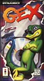 Gex 3DO cover