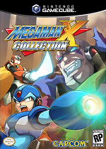 Mega Man X Collection GC cover