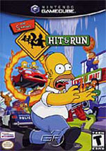 The Simpsons Hit And Run GC cover