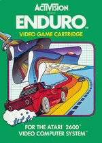 Atari 2600 Enduro box art
