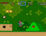 Super Mario World SNES screenshot