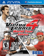 Virtua Tennis 4 World Tour Edition PSVita cover