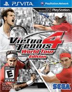 Virtua Tennis 4 World Tour Edition PSVita cover