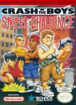 Crash n the Boys Street Challenge NES cover