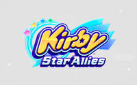 Kirby Star Allies Switch cover