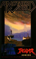 Another World Atari Jaguar cover