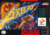 Axelay SNES cover