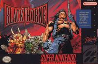 Blackthorne SNES cover