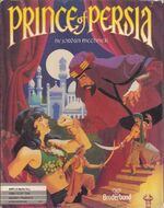 Prince Of Persia Apple II cover