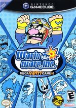 Wario Ware Inc Mega Party Games GC cover