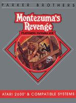 Atari 2600 Montezumas Revenge box art