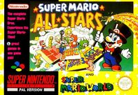 Super Mario All-Stars + Super Mario World SNES cover