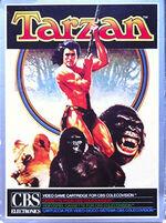 Tarzan Colecovision cover