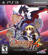 Disgaea 4 US Cover