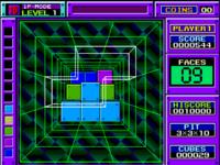 BlockOut arcade screenshot