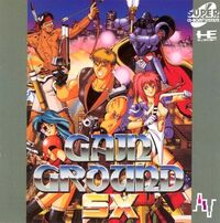 Gain ground sx