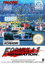 Formula 1 Sensation NES cover