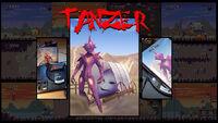 Tanzer Mega Drive cover