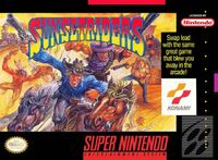 Sunset Riders SNES cover