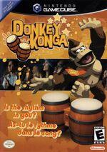 Donkey Konga GC cover