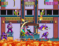 Mystic Warriors arcade screenshot