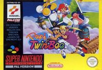 Popn Twinbee SNES cover