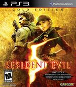 RE5 Gold Edition ps3 boxart
