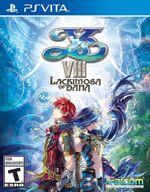 Ys VIII Lacrimosa of Dana PSVita cover