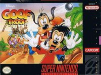 Goof Troop SNES cover