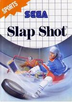 Slap Shot SMS box art