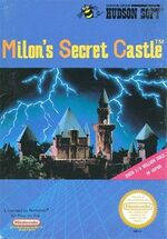 Milon's Secret Castle cover