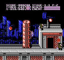 Ninja Gaiden 2 - The Dark Sword of Chaos (U) 001
