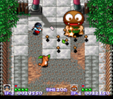 Pocky And Rocky SNES screenshot