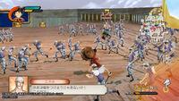 One Piece Kaizoku Musou 2 PSVita screenshot