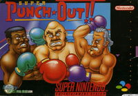 Super Punch Out SNES cover
