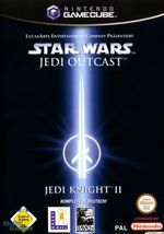 Star Wars Jedi Knight 2 Jedi Outcast GC cover