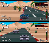 Top Gear SNES screenshot