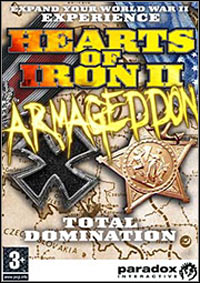 Hearts of Iron II Armageddon PC cover